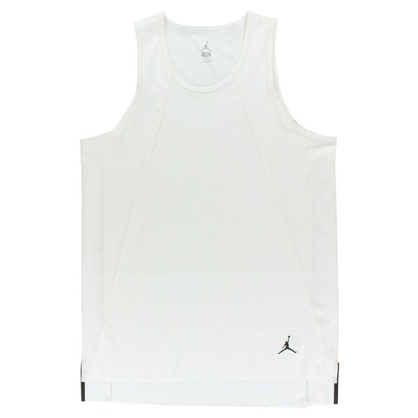 81db6b3619e5 Shop Jordan Mens 23 Lux Extended Lifestyle Tank Top White - Free Shipping On  Orders Over  45 - Overstock - 22614644