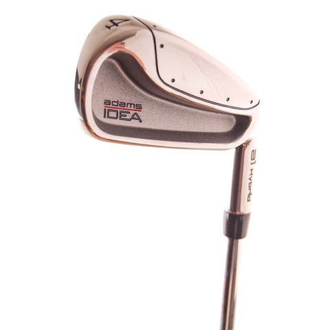 New Adams IDEA A1 Hybrid 4-Iron Uniflex Steel RH