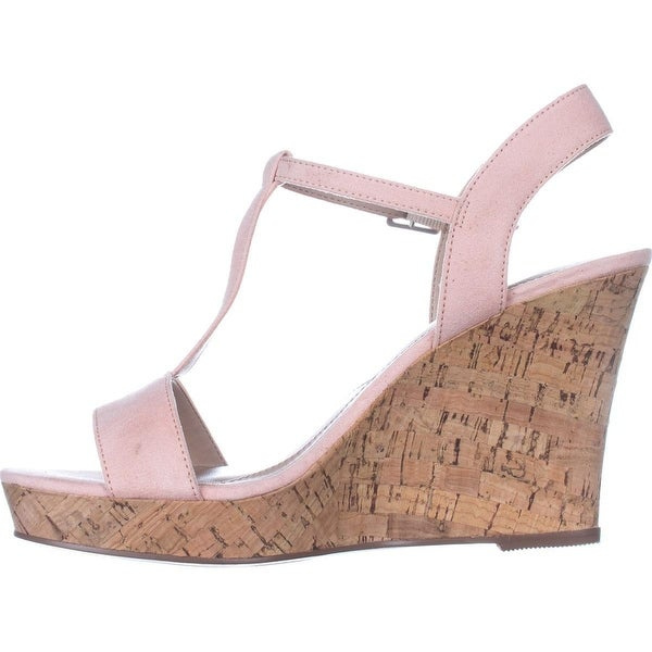 Charles by Charles David Womens libra Fabric Open Toe Casual Platform Sandals