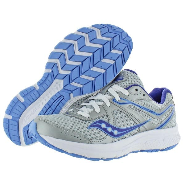Saucony Women/'s Cohesion 11 Running Shoe White//Navy//Teal Choose Size
