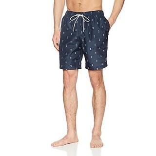 Nautica Mens Anchor Print Swim