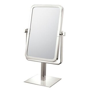 Aptations Rectangular Vanity Mirror In Brushed Nickel - Br. Nickel