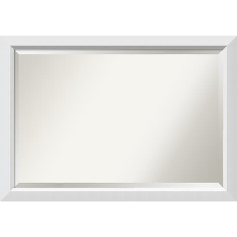Bathroom Mirror Extra Large, Blanco White 40 x 28-inch - 28 x 40 x 0.963 inches deep