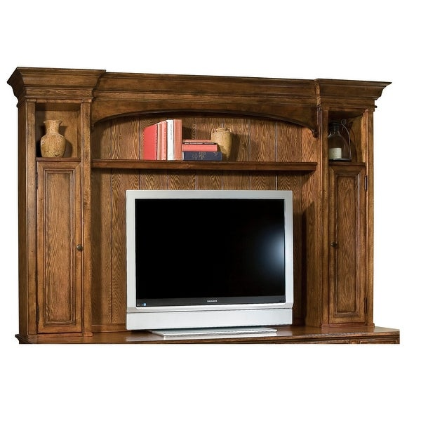 Hekman Furniture Brown Solid Wood Entertainment Deck (Top Only). Opens flyout.