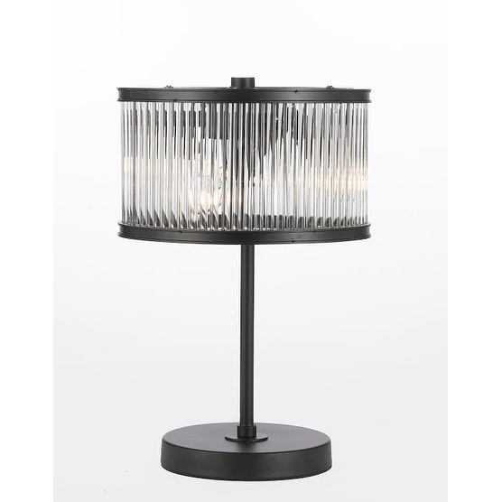 Shop Crystal Rod Iron Table Lamp 1920s Essex Contemporary Modern
