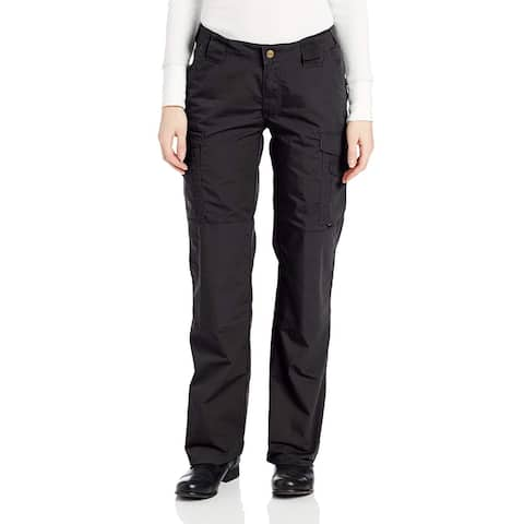 Tru Spec Womens Pants Deep Black Size 6 Straight Leg Button-Front