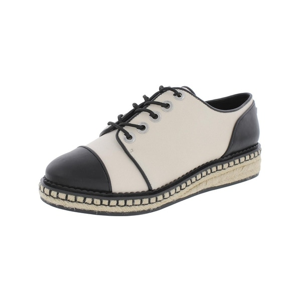 Karl Lagerfeld Paris Womens Lena2 Oxfords Tailored Cap Toe
