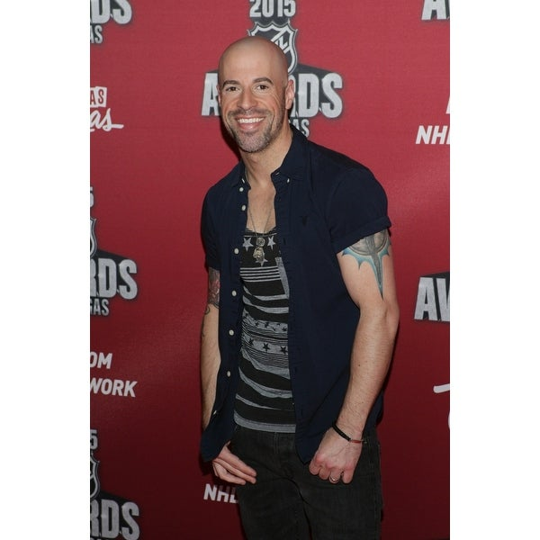 Shop Chris Daughtry At Arrivals For 2015 National Hockey League