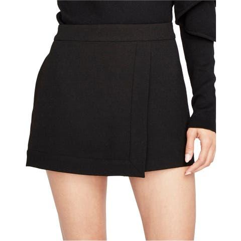 Rachel Roy Womens Faux Wrap Skort Skirt