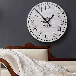 The Grace Farmhouse Wall Clock