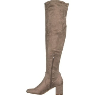 INC International Concepts Womens Rikkie Closed Toe Over Knee Fashion Boots