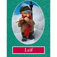 "10"" Zims The Elves Themselves Leif Collectible Christmas Elf Figure"