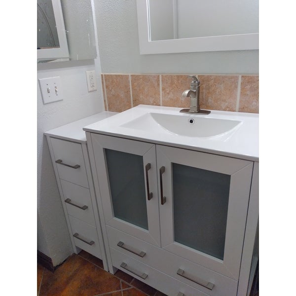 Shop For Vanity Art 42 Inch Single Sink Complete Bathroom Vanity Set Get Free Delivery On Everything At Overstock Your Online Furniture Outlet Store Get 5 In Rewards With Club O 12609989