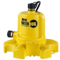 WAYNE WWB 1/6 HP Thermoplastic Non-Submersible Utility Pump WaterBUG
