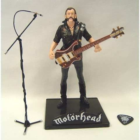 """Motorhead Lemmy Exclusive Collector's Edition 7"""" Icon Figure - Toynk Exclusive - multi"""