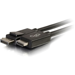 C2G 6ft DisplayPort to HDMI Adapter Cable - Black - (Refurbished)