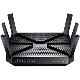 TP-LINK ARCHER C3200 TP-LINK Archer C3200 IEEE 802.11ac Ethernet Wireless Router - 2.40 GHz ISM Band - 5 GHz UNII Band - 6 x