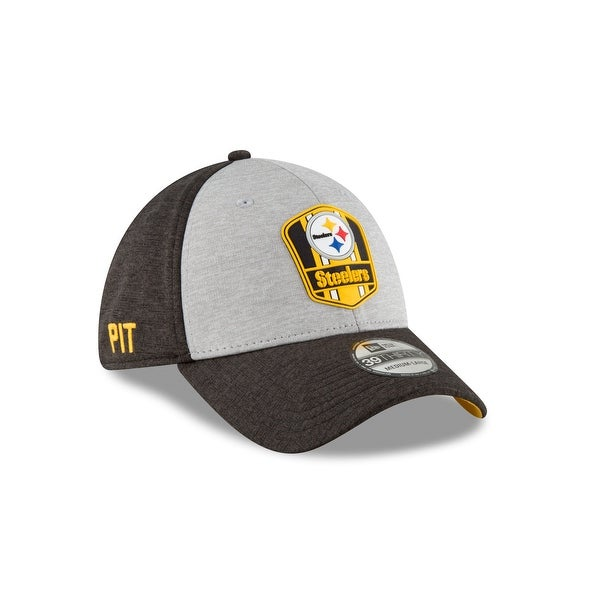 new arrival c10dd d6c62 Pittsburgh Steelers Sideline Away 39THIRTY Stretch Fit Hat