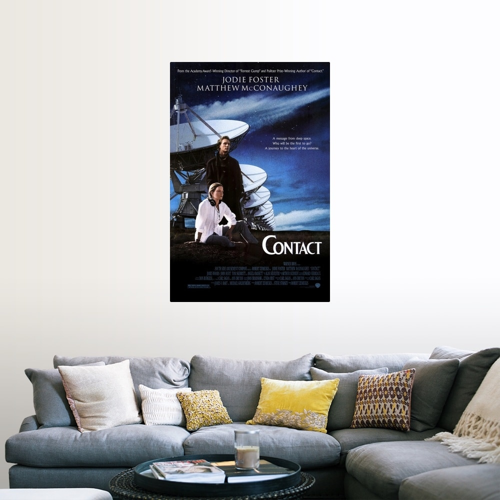 Shop Black Friday Deals On Contact 1997 Poster Print Overstock 24136642