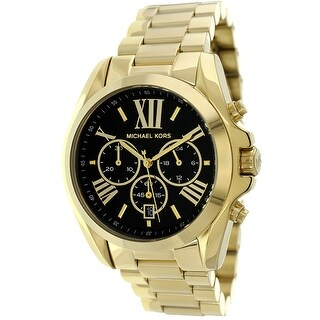 Michael Kors Women's Bradshaw Black Dial Watch
