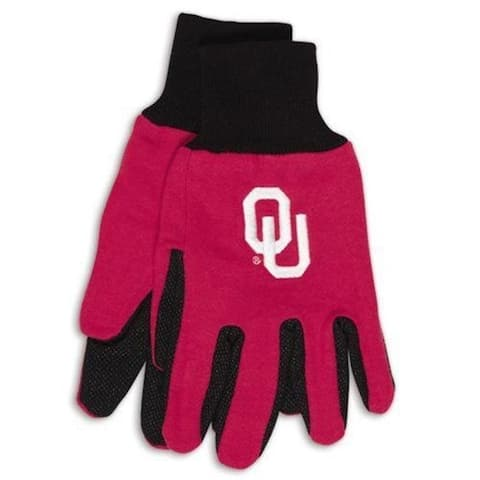McArthur 9960695970 Oklahoma Sooners Two Tone Glove Adult