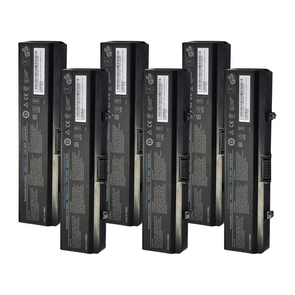 Replacement Battery For Dell Inspiron 1526 Laptop Models - X284G (56Wh, 11.1V, Lithium Ion) - 6 Pack