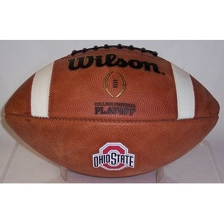 Ohio State Buckeyes Official Wilson NCAA Leather Football - GTS