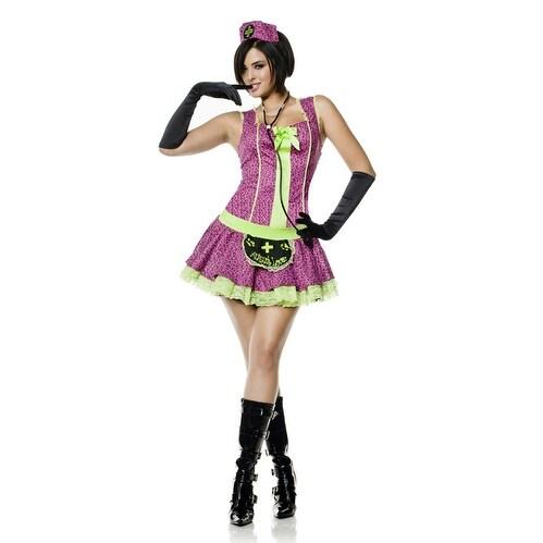 Seven til Midnight Vet Nurse Adult Costume - Solid