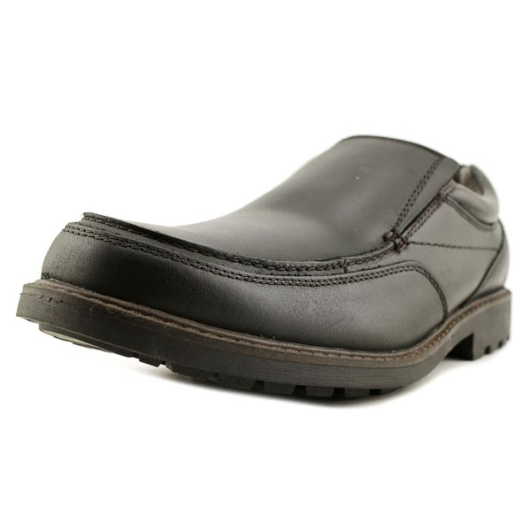 GH Bass & Co Dax Men Round Toe Leather Black Loafer