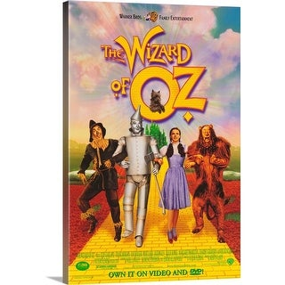 Premium Thick-Wrap Canvas entitled The Wizard of Oz (1998) - Multi-color