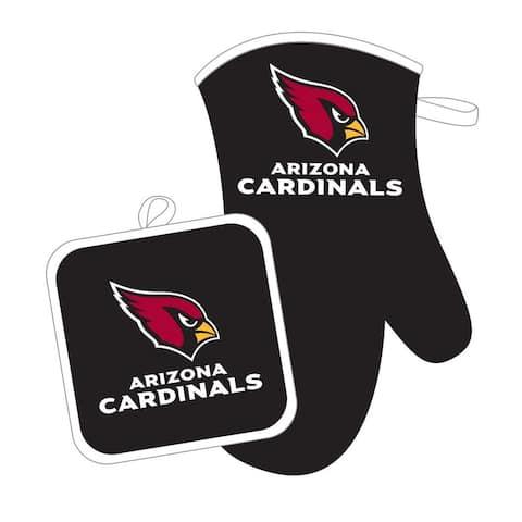 Arizona Cardinals NFL Oven Mitt and Pot Holder