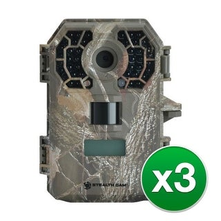 """Stealth Cam 10MP Black Out Camera (3-Pack) G42NG 10MP Scouting Camera"""