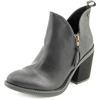 Groove Kat Pointed Toe Synthetic Ankle Boot