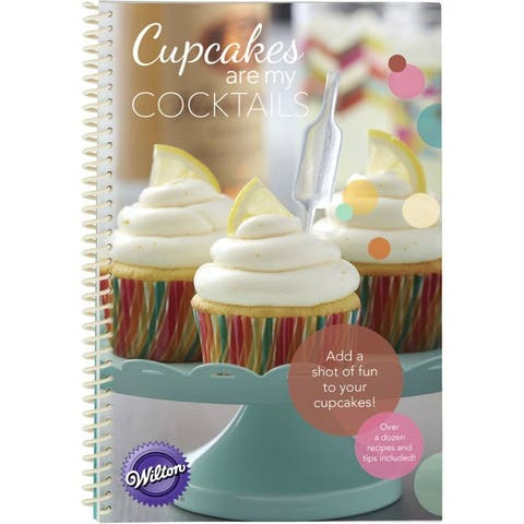 Wilton 8022-2730 Shot Tops Cupcake Recipe Book & Flavor Infuser Set Combo Pack