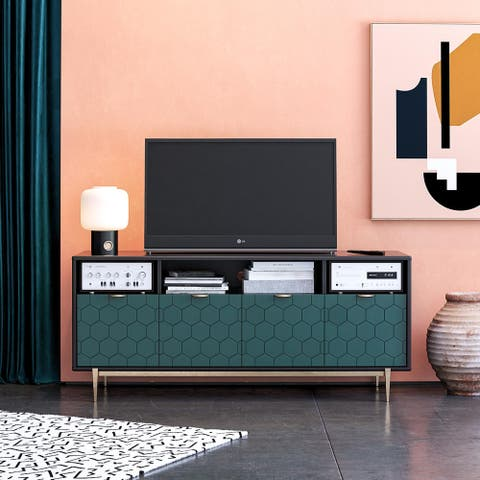 CosmoLiving by Cosmopolitan Olivia TV Stand for TVs up to 65 inches