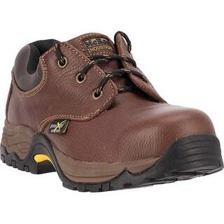 McRae Industrial Work Shoes Mens ST XRD Met Oxford Brown