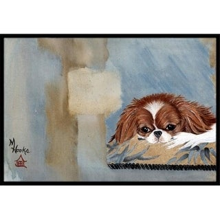 Carolines Treasures MH1010JMAT Japanese Chin Resting Indoor & Outdoor Mat 24 x 36 in.