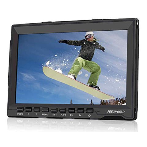 "Feelworld 7"" Slim Design Ultra HD IPS 1280x800 Field Monitor with HDMI Input (Black)"