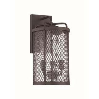 Craftmade Z2214 Blacksmith 3 Light Outdoor Wall Sconce - 8 Inches Wide
