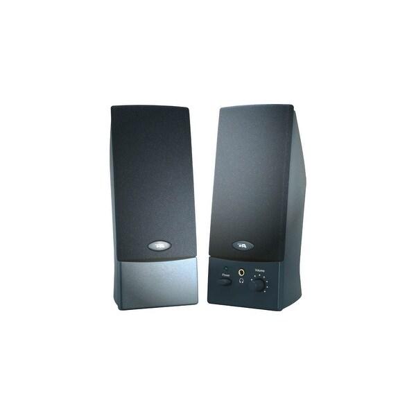 Cyber Acoustics CA-2011WB Cyber Acoustics CA-2011WB 2.0 Speaker System - 4 W RMS - Black - 85 Hz - 18 kHz