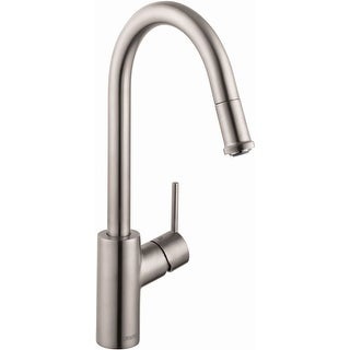 Hansgrohe 14872  Talis S Pull-Down Single Function Kitchen Faucet with High-Arc Spout & Magnetic Docking