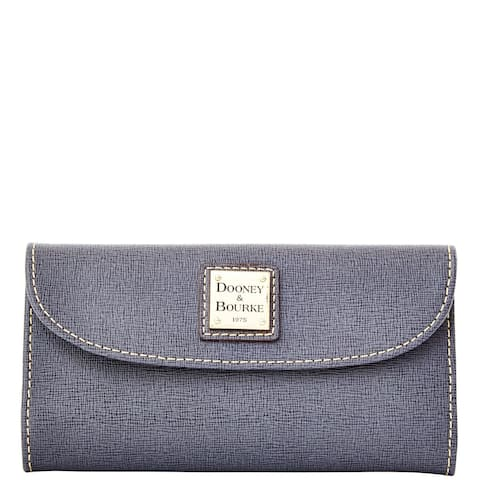 Dooney & Bourke Saffiano Continental Clutch Wallet (Introduced by Dooney & Bourke in Aug 2014)