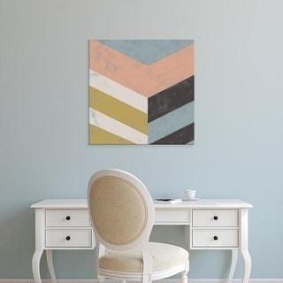 Easy Art Prints Chariklia Zarris's 'Stride I' Premium Canvas Art