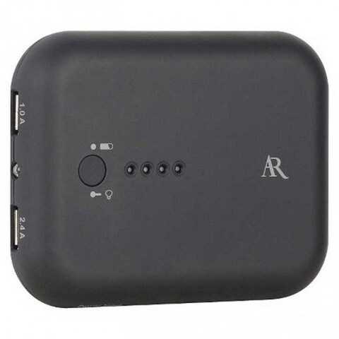 Acoustic Research 10,000mAh power bank for Iphone, Ipad, Ipod and Android