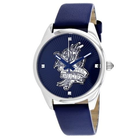 Jean Paul Gaultier Women's Navy Tatoo Blue Dial Watch - 8502413