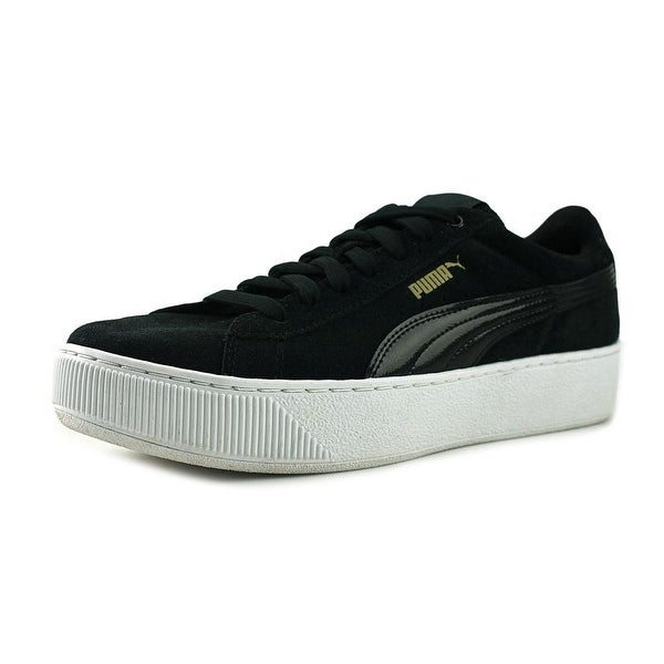 Puma Vikky Platform Black-White Sneakers Shoes