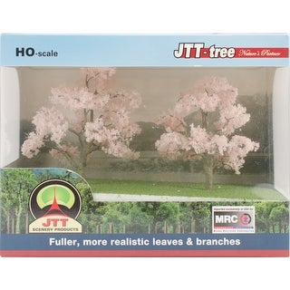 "Cherry Blossom Trees 3"" To 3.5"" 2/Pkg-"