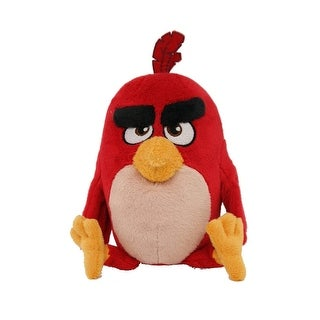 "Angry Birds Movie 7"" Plush: Red"