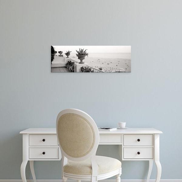 Easy Art Prints Alan Blaustein's 'Positano Terrazza Vista' Premium Canvas Art