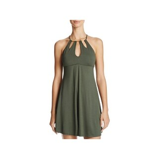 Robin Piccone Womens Calista Sundress Braided Cut Out